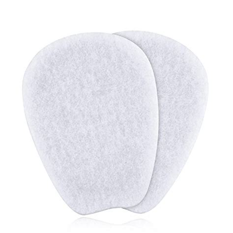 7 Pairs Of Premium by 7 Pairs Of Felt Tongue Pads Cushion For Shoes Size