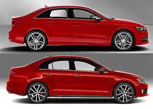 Vw Jetta Vs Audi A3 Vwvortex Gray Audi A3 Sedan 1 8t Quattro Finally A