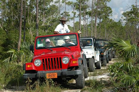 Adventure Jeep Shore Excursion Bahamas Jeep Adventure Freeport The
