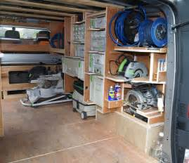 work truck shelving box shelving ideas