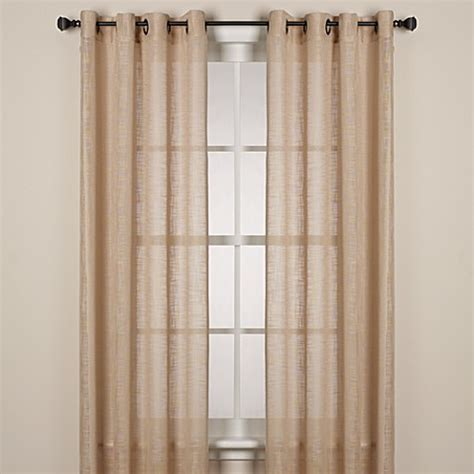 alton solid grommet window curtain panel buy alton solid grommet window curtain panel 63 inch