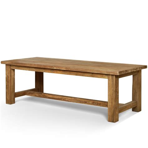 Antique Refectory Table And Benche ? Alert Interior