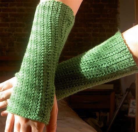 arm knitting patterns schrodinger knits supple rib knit arm warmers