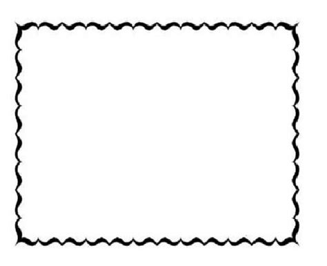 curvy border frame coloring pages to print free coloring