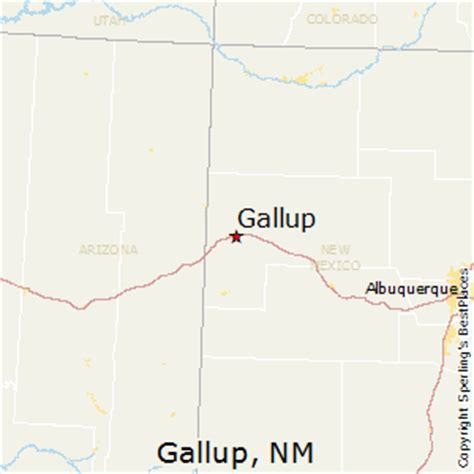 map of gallup new mexico best places to live in gallup new mexico