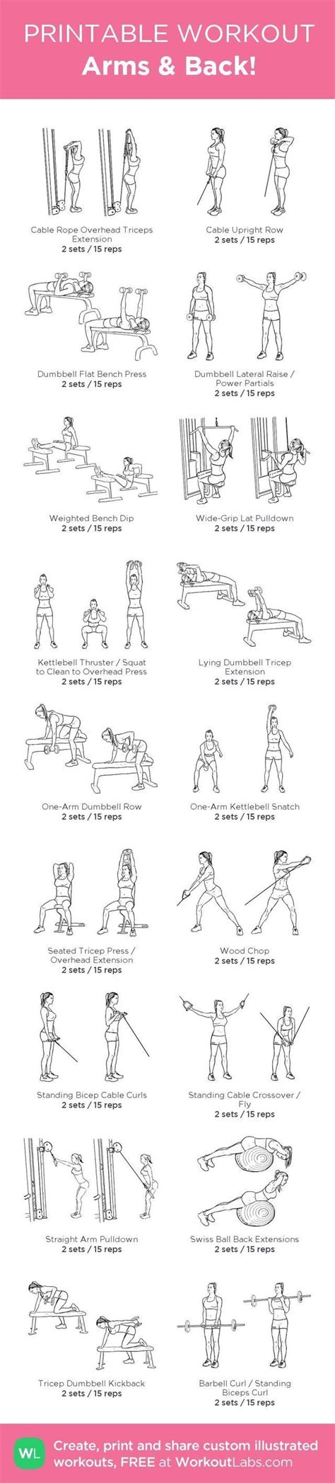best 20 back workouts ideas on