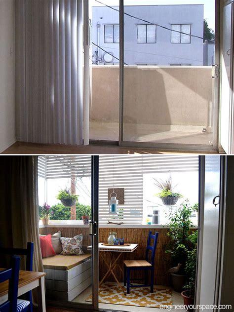 diy small apartment balcony diy outdoor storage bench hometalk