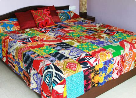 Bedcover Import King fair trade india from asha imports