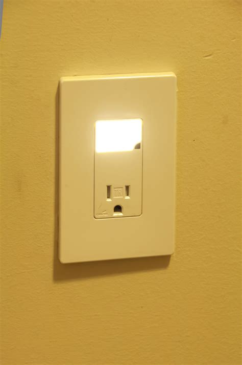 receptacle night light cover install an led night light tribune content agency june