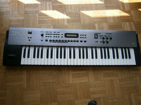 Keyboard Roland Rs 50 by Roland Rs 50 Image 434531 Audiofanzine
