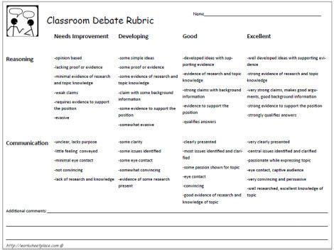 classroom debate layout high school classroom debate format just b cause