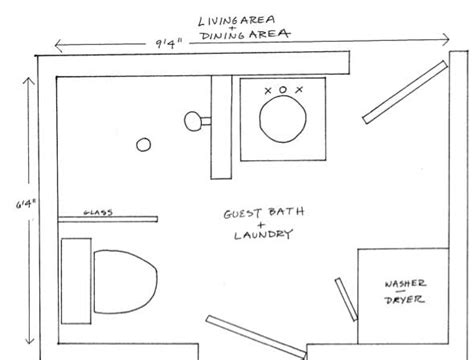 bathroom laundry room floor plans two bathroom laundry ideas within the footprint of a small