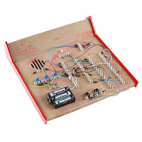 electric circuit kit recreating classic electronics kits learn sparkfun