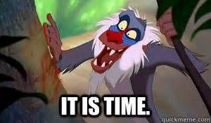 Rafiki Meme - it is time when the child grows up
