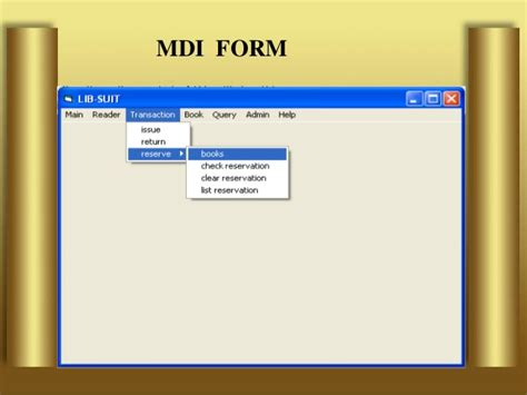 form design for library management system in vb library management system