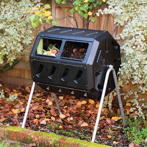 Backyard Compost by Compost Bin Tumbling Composter Home Outdoor Backyard