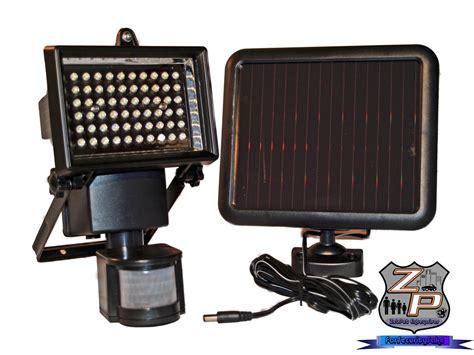 Solar Panels For Sensors - solar panel motion sensor outdoor security light 60 led