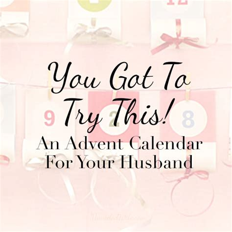 a thoughtful husband gift