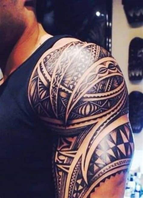 50 geniales dise 241 os e ideas de tatuajes tribales para
