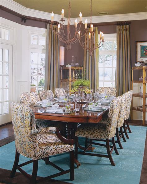 Southern Dining Rooms southern living idea house traditional dining room