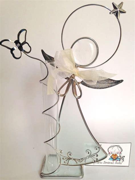 centros de mesa y recuerdos bautizo angelitos de vitral 90 00 en mercado libre