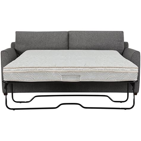 city furniture asheville gray fabric innerspring sleeper