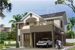 Home Design In 20 50 2050 Sq Modern Exterior Home Kerala Home Design And