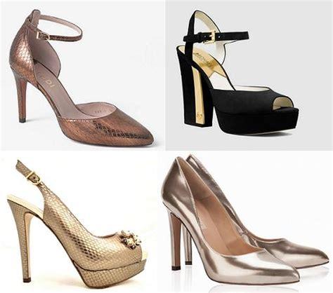 el corte ingles zapatos de fiesta zapatos de fiesta el corte ingl 233 s dorados plateados