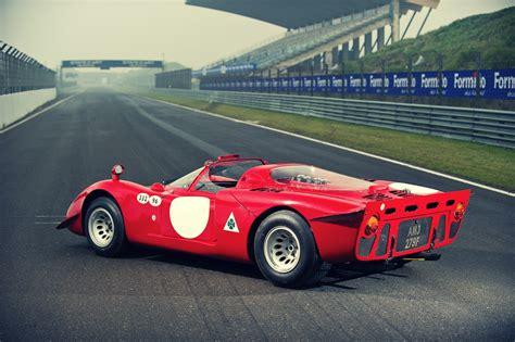 alfa romeo racing 1968 alfa romeo tipo 33 2 daytona silodrome