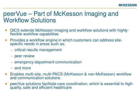 imaging and workflow qicstm qualitative intelligence and communication system