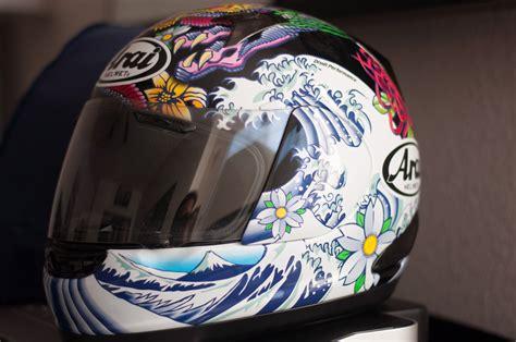 design helmet asia i gave an art major friend my passenger helmet and a