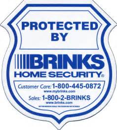 home security signs 10 brinks home security window and door decals by