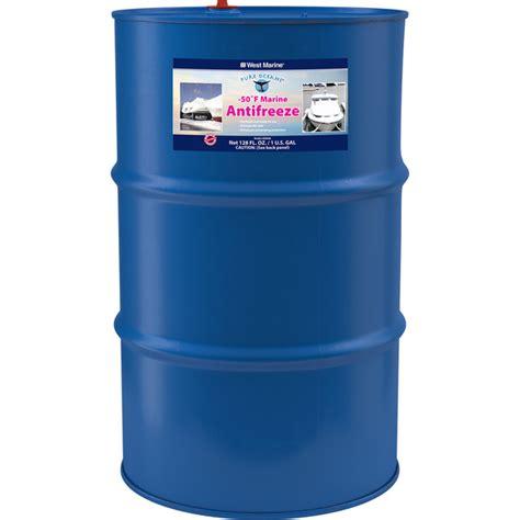 winterizing boat ballast tanks west marine 50 176 f engine water system antifreeze 55 gal