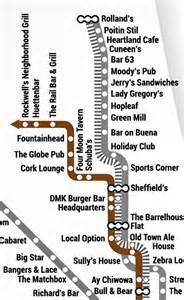 Brown Line Map Chicago by Acme Hotel A New Chicago Cta Map