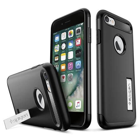 Iphone 7 Spigen Slim Armor iphone 7 iphone 8 spigen slim armor deksel svart