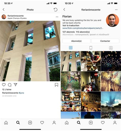 instagram s adapte aux iphone xr xs max et abandonne ios 9 igeneration