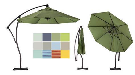 11 Best Large Cantilever Patio Umbrellas With Ideal Shade Large Cantilever Patio Umbrellas