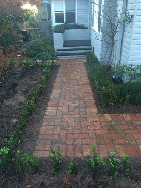 brick driveway 21 best recycled canberra brick driveway images on