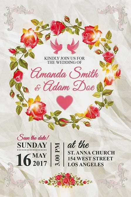 posters for weddings templates free wedding invitation free poster template best of flyers