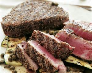 grilled tuna steaks delish pinterest