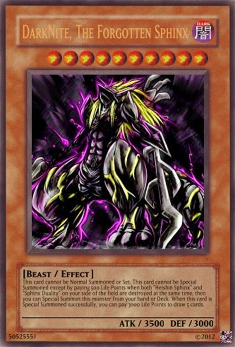 yugioh sphinx deck sphinx support continuation advanced card design
