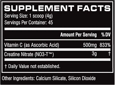 no3 t creatine nitrate cellucor cn3 45 servings of unflavored no3 t creatine nitrate