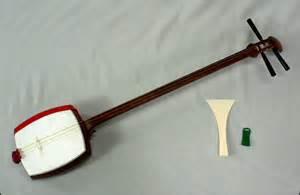Japanese String - three strings the shamisen american hikikomori the