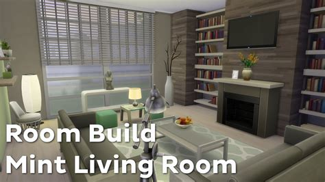 the room 4 the sims 4 room build mint living room