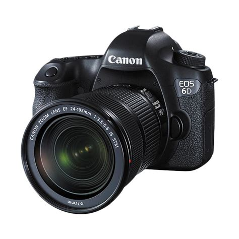 jual canon eos 6d wifi kit 24 105mm is stm kamera dslr