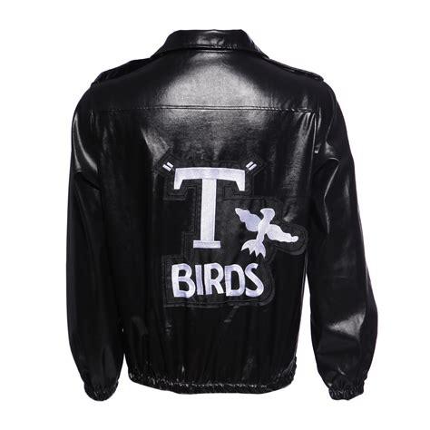 mens t bird grease jacket 1950s mens couples pink t birds jacket fancy