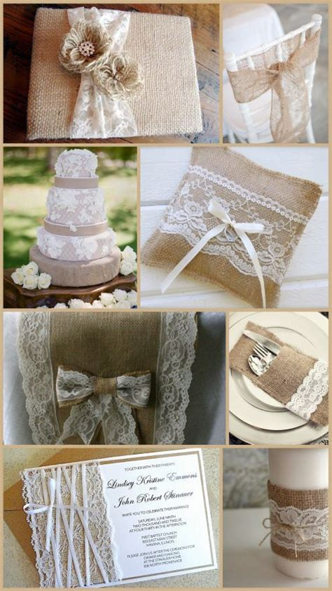 lq designs burlap and lace wedding ideas wedding ideas burlap david tutera and lace on pinterest