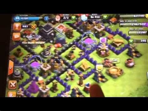 Clash Of Clans Account Giveaway - clash of clans account giveaway th9 free youtube