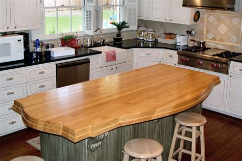 counter island hard maple wood countertop photo gallery by devos custom