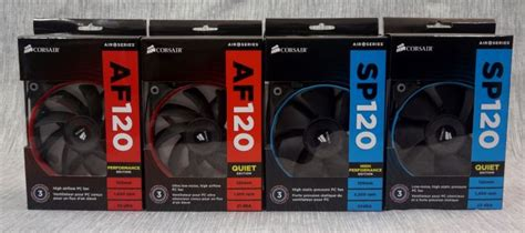 high static pressure fans the corsair sp static pressure af high airflow 120